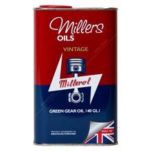 Vintage Millerol Green Gear Oil 140 GL1 - 1 Litre