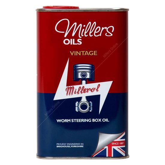 Vintage Millerol Worm box - 1 Litre