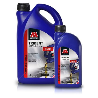TRIDENT LONGLIFE V 5w30 Fully Synthetic Engine Oil