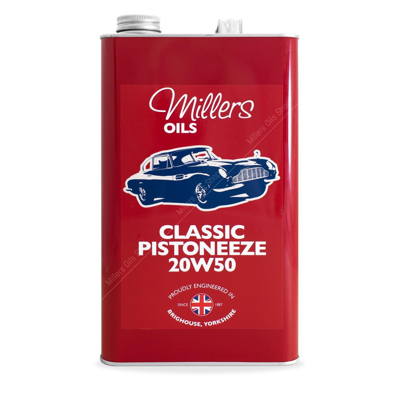 Classic Pistoneeze 20w50 Engine Oil
