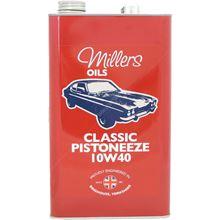 Millers Oils Classic Pistoneeze 10w-40 Engine Oil - 5 Litres