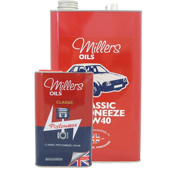 Millers Oils Classic Pistoneeze 15w-40 Engine Oil