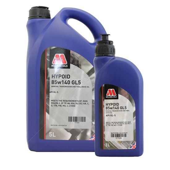 Hypoid 85w140 GL5 Gear Oil