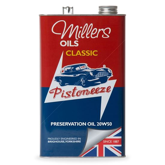 Classic Preservation Oil 20w50 - 5 Litres