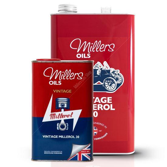 Vintage Millerol 30 Engine Oil