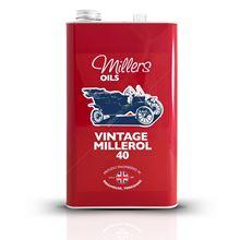 Vintage Millerol 40 Engine Oil - 5 Litres