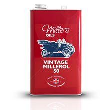 Vintage Millerol 50 Engine Oil - 5 Litres