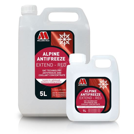 Alpine Antifreeze Extend Red Concentrate