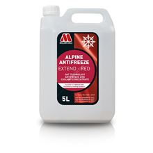 Alpine Antifreeze Extend Red Concentrate - 5 Litres
