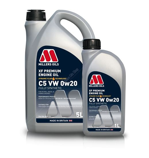 XF Premium C5 VW 0w20 Engine Oil
