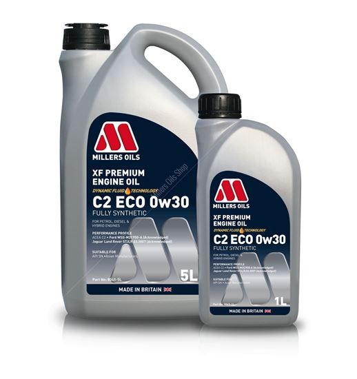 XF Premium C2 ECO 0w30 Engine Oil