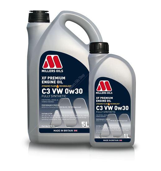 XF Premium C3 VW 0w30 Engine Oil