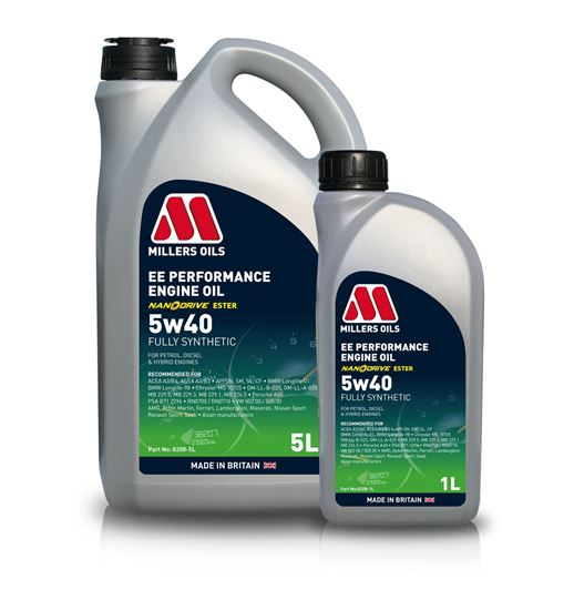 EE Performance 5w40 Engine Oil
