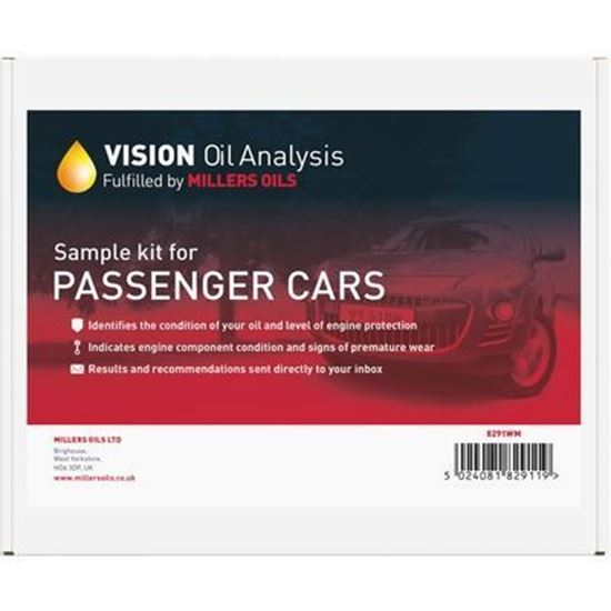 Picture of Millers Oils VISION Oil Analysis Kit - Passenger Car