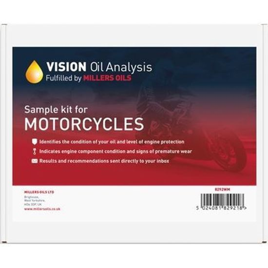 Picture of Millers Oils VISION Oil Analysis Kit - Motorcycle