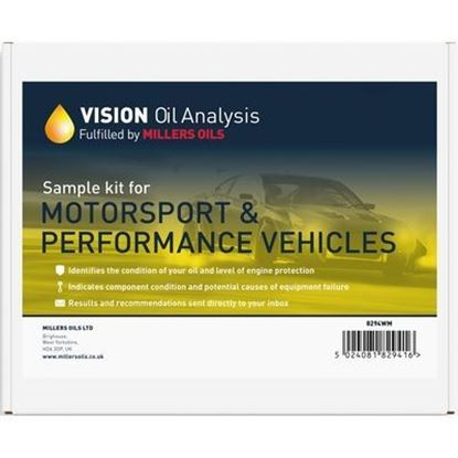 Picture of Millers Oils VISION Oil Analysis Kit - Motorsport